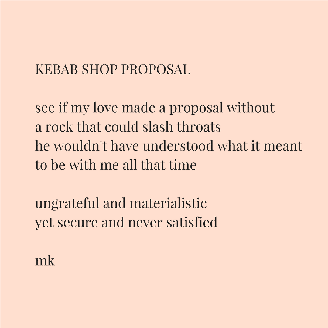 KEBAB SHOP PROPOSAL